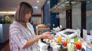 曼谷航空商務貴賓室吃到飽!