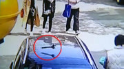 浙江:天降扳手砸爛奔馳 車主將狀告整棟樓